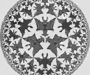 Escher the circle