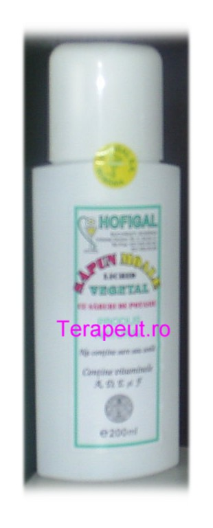 sapun lichid vegetal