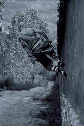 Shaolin pe perete