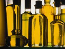 sticlute cu ulei - uleiul de masline