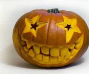 bostan pentru noaptea de halloween