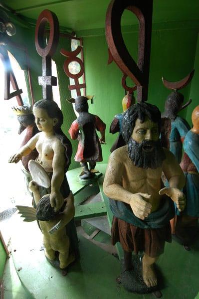 figurinele din turnul cu ceas din sighisoara 2