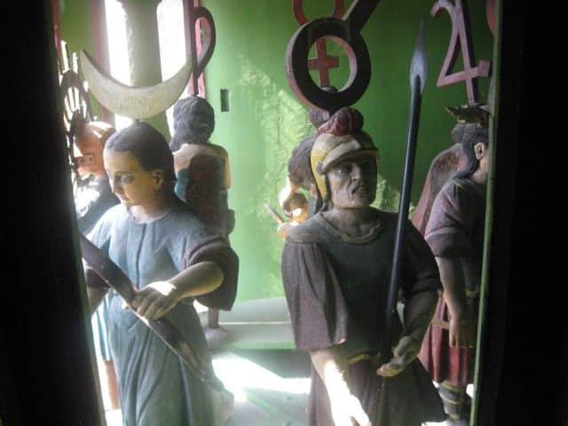 figurinele din turnul cu ceas din sighisoara