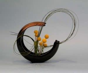 aranjament floral ikebana