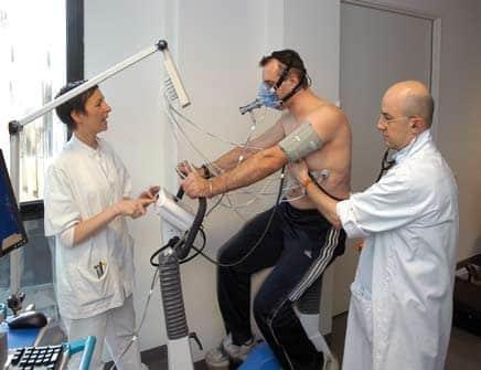 Testul de efort - Examen medical