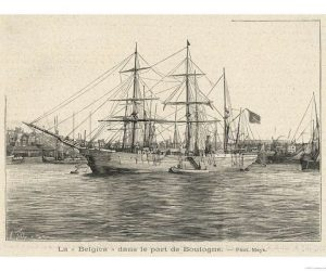 Belgica in portul Boulogne