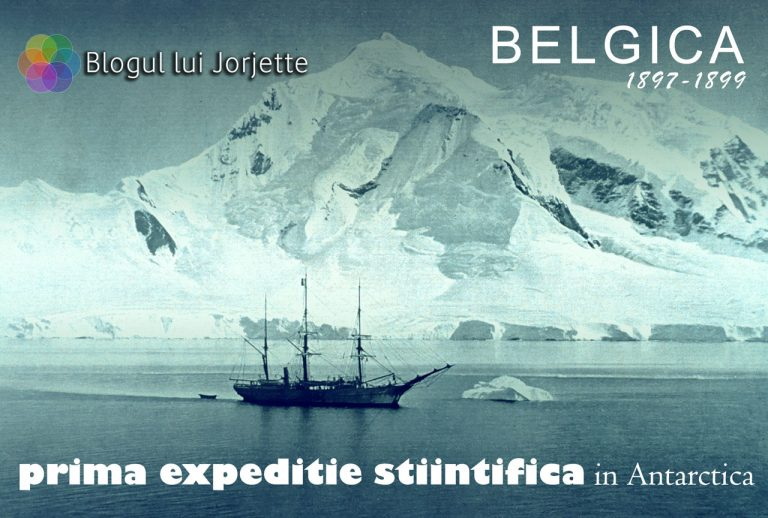 Prima expeditie stiintifica in antarctica - Belgica 1897 - 1899