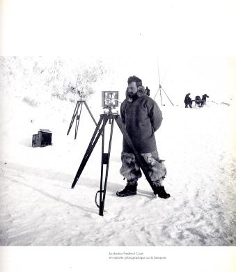 Frederik Cook in Antarctica