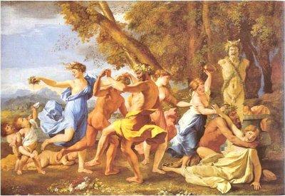 La curtea lui Dionysios - tabloul filozofilor 3