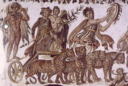 La curtea lui Dionysios - tabloul filozofilor 1