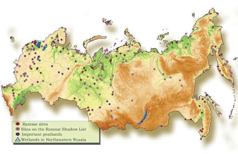harta rusiei