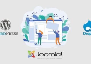 Joomla wordpress drupal comparatie