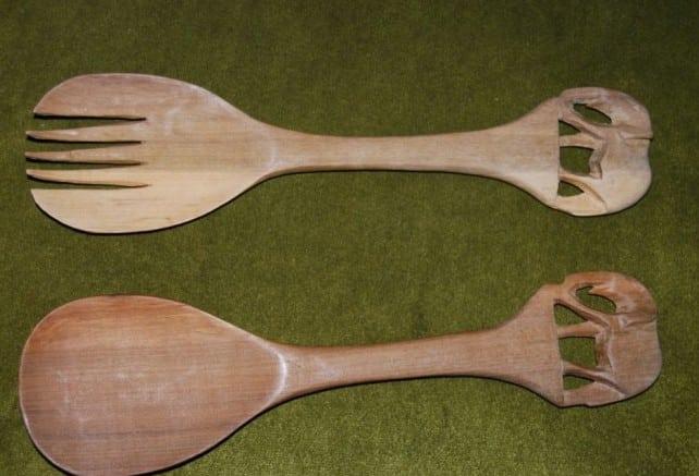 linguri traditionale de lemn