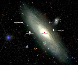 Galaxia Andromeda de la Galileo la Hubble 2