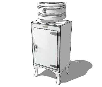 drumul spre zero absolut - primul frigider