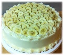 "Tort cu cremă ""Rafaelo"" şi banane 1"