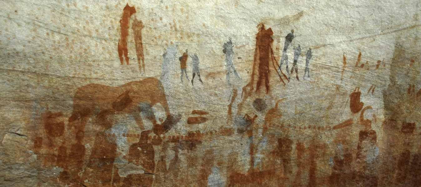 Arta africana petroglife din africa de sud
