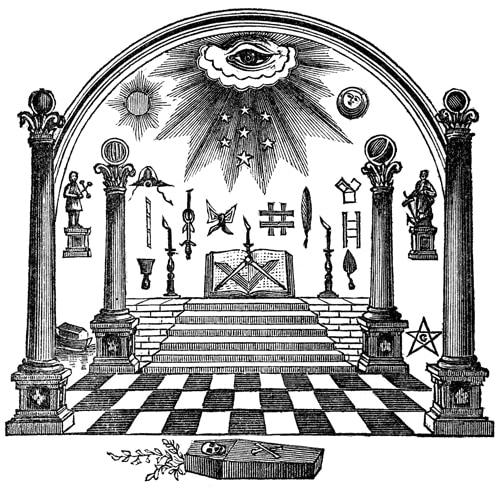 initierea masonica