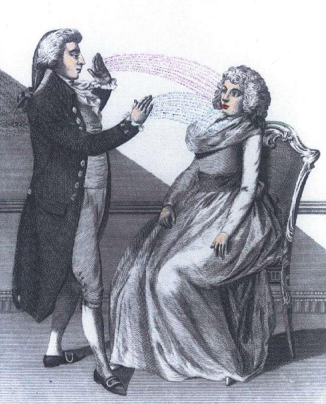 Magnetismul animal, tehnica hipnotistului Anton Mesmer 2