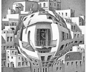 Galerie Iluzii optice - Balconul
