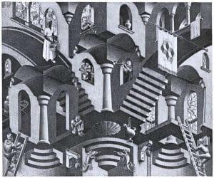 Galerie Iluzii optice - Convex si Concav