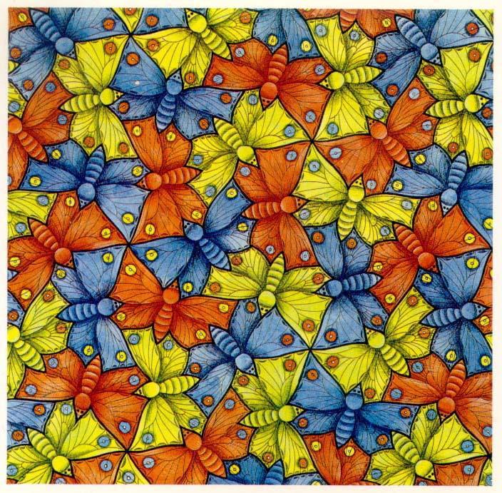 Galerie Iluzii optice - Fluturi