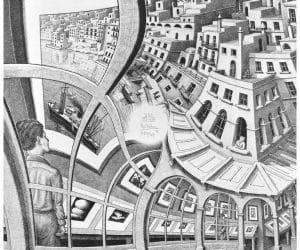 Galerie Iluzii optice - Galeria cu tablouri