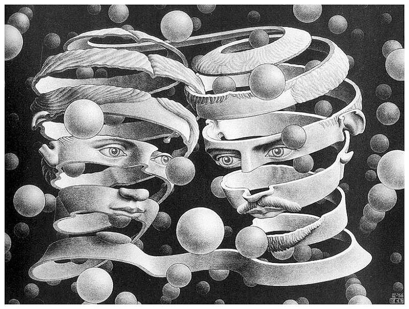 Galerie Iluzii optice - Legaturile uniunii