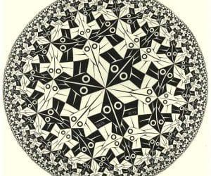 Galerie Iluzii optice - Limita cercului