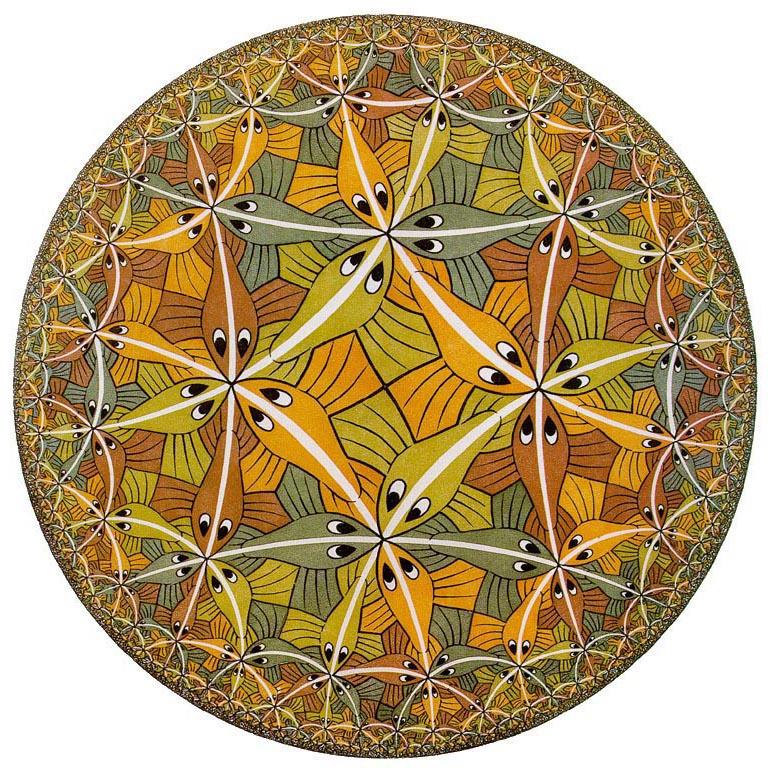 Galerie Iluzii optice - Limita cercului 2