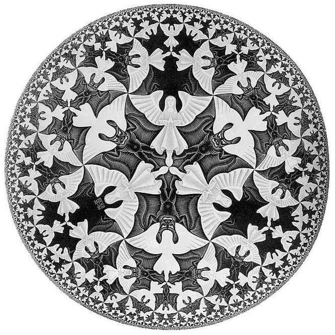 Galerie Iluzii optice - Limita cercului 3