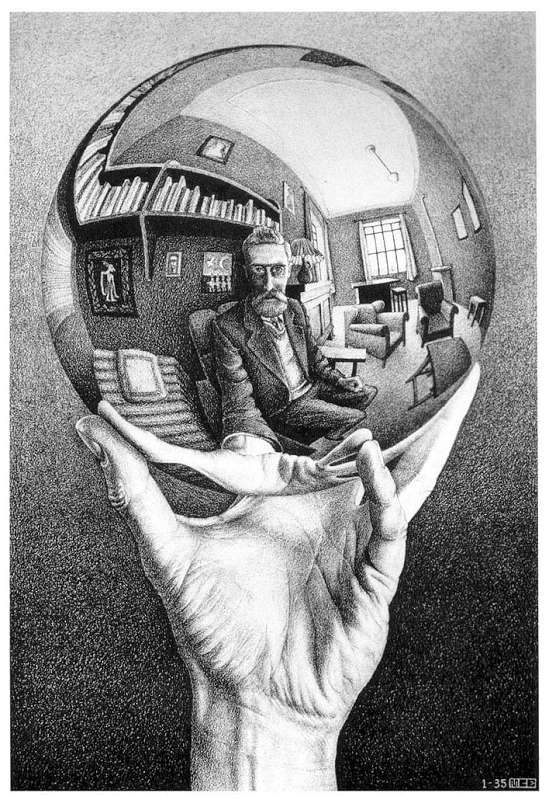 Galerie Iluzii optice - Mana cu sfera