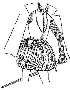 moda secolul 16 vesta barbateasca