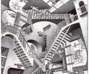 Galerie Iluzii optice - Relativitatea