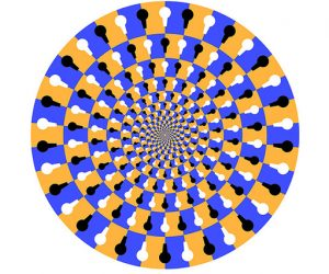 Galerie Iluzii optice - Efectul de rotire