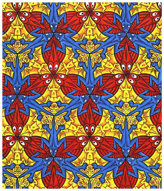 Galerie Iluzii optice - Soparla peste liliac