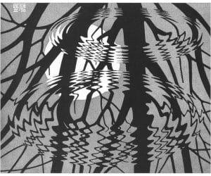 Galerie Iluzii optice - Suprafata ondulata