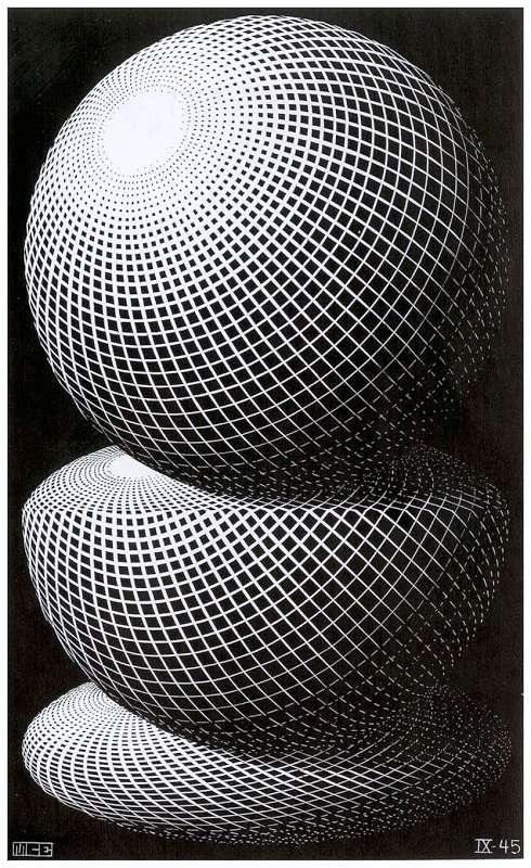 Galerie Iluzii optice - Trei sfere