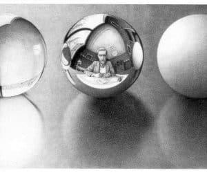 Galerie Iluzii optice - Trei sfere 2