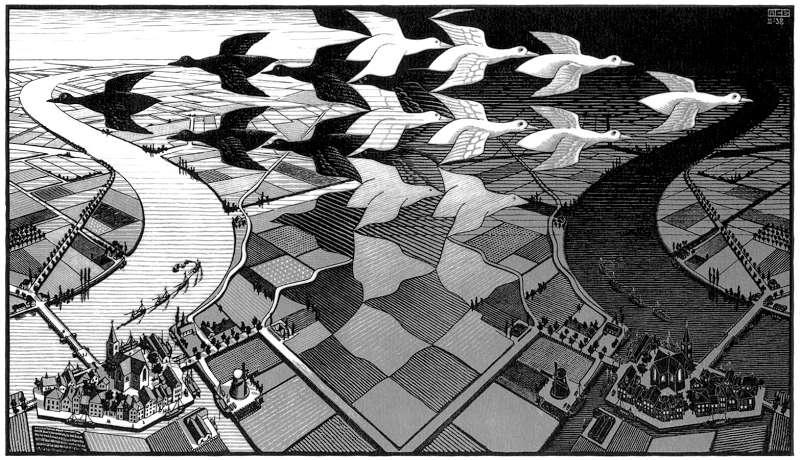 Galerie Iluzii optice - Ziua si noaptea