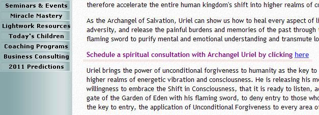 Mesaje spirituale - consultaţie online de la arhanghelul Uriel 1