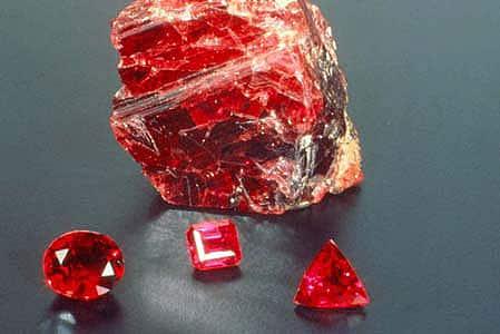 pietrele pretioase - rubin