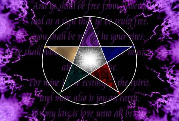 Pentaclu Wicca