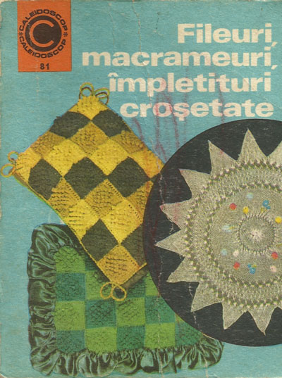 Coperta fileuri, macrameuri, impletituri crosetate