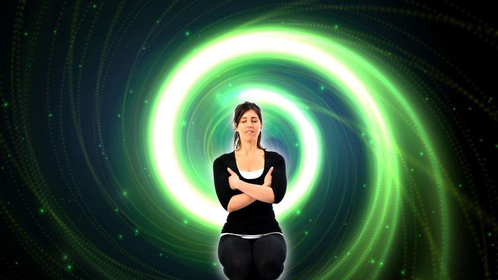 Exercitii yoga pozitia echilibrarii respiratiei