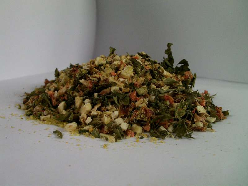 Vegeta natural de casa - legume uscate