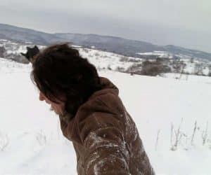 Fotografii de iarna - Nu ai cu cine `domle