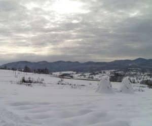 Fotografii de iarna - Muntii Biharia