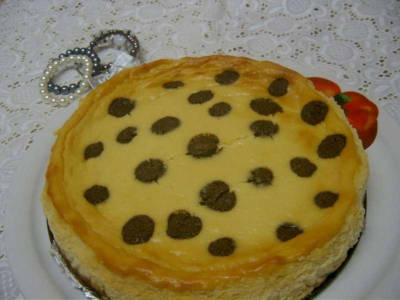 Prajitura dalmatian cu crema de branza