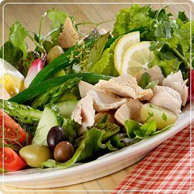 salata de legume cu peste hipertensiunea